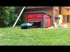 Garage Für Mähroboter Gardena - gardena r70 li m 228 hroboter m 228 handa hat neue garage