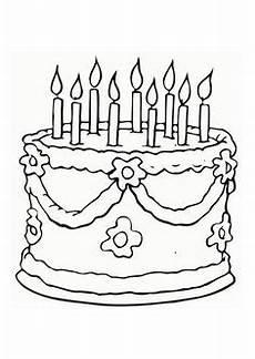 Malvorlagen Kinder Torte Torte Zum Geburtstag Bild Zum Ausmalen Ausmalbilder F 252 R