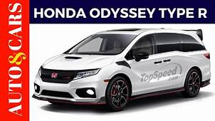 2020 Honda Odyssey Type R Specs Release Date And Review