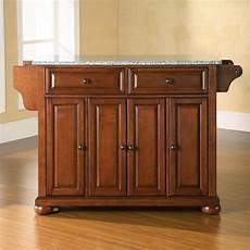 crosley furniture kitchen island shop crosley furniture brown craftsman kitchen island at