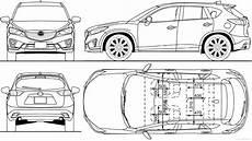 Blueprints Gt Cars Gt Mazda Gt Mazda Cx 5 2012