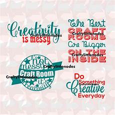 creative craft room quotes svg studio ai eps scalable