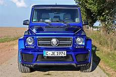 Mercedes G Class Tuned By German Special Customs Carz Tuning