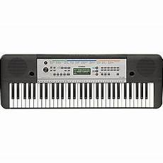 yamaha ypt 255 yamaha electric piano keyboard w 61 size ypt
