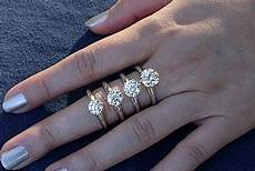 Average Engagement Ring Size Chicago what is the average size for an engagement ring