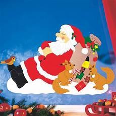 Fensterbilder Weihnachten Vorlagen Tonkarton Fensterbild Verschlafene Weihnachten Fischer Fensterbilder