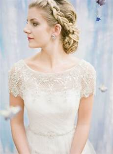 hairstyles to wear with a dress 57 unique wedding hairstyles for different necklines 2016