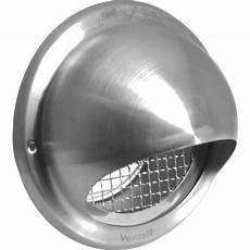 grille de ventilation vmc stainless steel bull nose vent grill 100mm