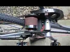 smart e bicycle demo brushless motor frictiondrive part 2