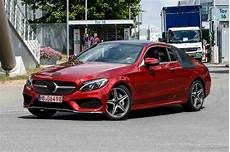 The Mercedes C Class Coupe Is Almost Undisguised