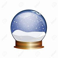 Image result for clip art snow globe