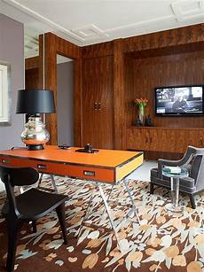 home office furniture orange county hot trend 25 vibrant home offices with bold orange brilliance