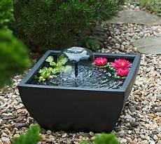 Gartenbrunnen Springbrunnen Ubbink Miniteichset Iv In