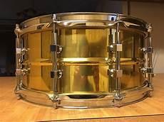 tama brass snare tama vintage power metal brass snare 14x6 5 reverb