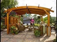 Pergolas Y Cenadores En Dise 241 O De Jardines Hd 3d Arte Y