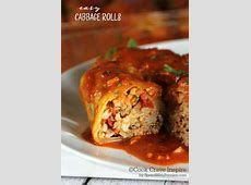 easy cabbage rolls_image