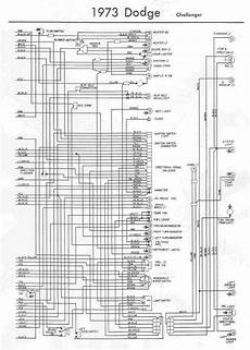 Electrical Wiring Diagram Of 1973 Dodge Challenger 60913