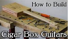 how to make cigar box guitars how to build a cigar box guitar 3 4 string use your own neck or kit ebay