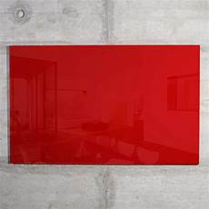 glas magnetwand glas magnetwand max 100x60 cm rot kaufen raum blick