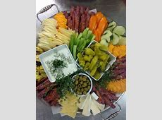 Appetizer of antipasti for a buffet dinner in 2019