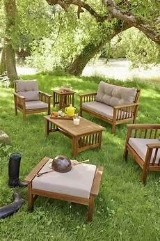 Salon Bas De Jardin Salon Bas De Jardin En Teck Id 233 Es De D 233 Coration