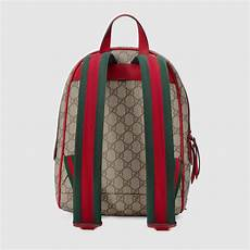 supreme buy gucci limited edition gg supreme backpack lyst
