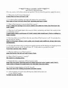 romeo and juliet act 4 worksheet answers david simchi levi