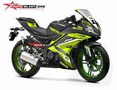 Yamaha R15 Modifikasi Stiker modifikasi motor yamaha r15 black stiker desain stabilo