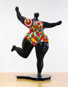Phalle Niki De Black Stand Figure Sotheby S