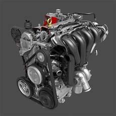 car 4 cylinder engine cutaway 3d model max obj cgtrader