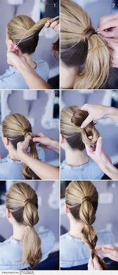 tutoriel coiffure femme photos de coiffures faciles