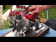 96cc v8 rc drag car engine v8 rc part 3