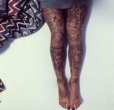 15 Gorgeous Leg Tattoos For