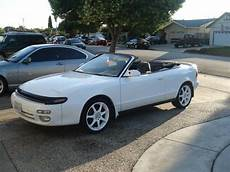 1992 celica convertible 1993 toyota celica gt convertible white for sale fort worth usa