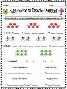 multiplication as repeated addition worksheets multiplication as repeated addition by jamiep123 tpt