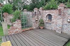 Steinmauern Als Sichtschutz Sch 246 N Steinmauer Im Garten