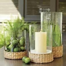 accessori per candele sl sea grass hurricane tropical candleholders by