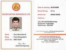 employee i card template webbience bordered employee id card templates