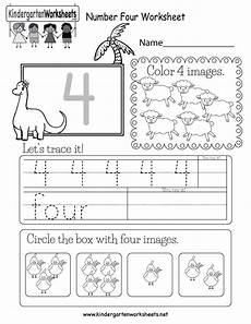 numbers worksheets for kindergarten 18393 number four worksheet free kindergarten math worksheet for