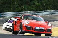 porsche 911 gt3 rs jumping out of nurburgring carousel is