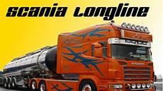 scania longline spezial umbau roland singer transport
