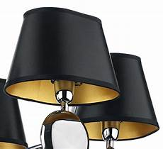 dar oval black and gold wall light or chandelier shade lex2622