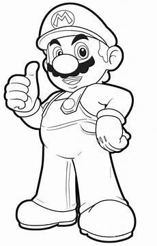 Malvorlagen Mario Hd Mario Ausmalbilder Malvorlagentv
