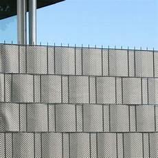 polyrattan sichtschutz polyrattan sichtschutzstreifen platin grau sichtschutz