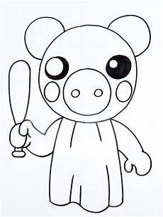 robot roblox piggy coloring pages robby b 250 squeda de