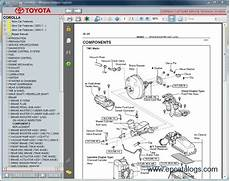 automotive repair manual 1994 toyota corolla spare parts catalogs toyota corolla