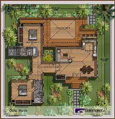 balinese style house plans 885 best images about plans de maisons on pinterest