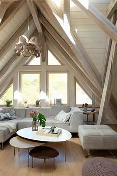 Unser Gem 252 Tlicher Wohnbereich Mit Viel Holz Dachges