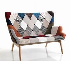 divanetto due posti divanetto moderno particolare patchwork 2 posti