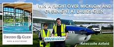 competition win a flight over wicklow and overnight at